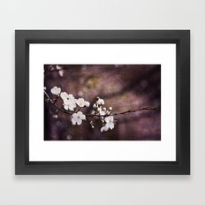 Purple Spring Framed Art Print