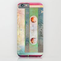 iPhone & iPod Case featuring Burning Love - Analog zine by Iris Lehnhardt