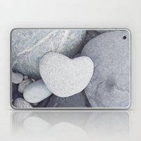 Heart Shaped Rock Laptop & iPad Skin