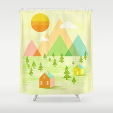 Prosperous Shower Curtain