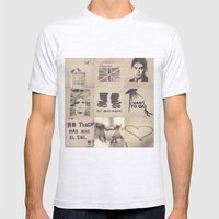 Birds, Palermo, Kafka, Lou Reed, Surfing, I want to go, No tengo mas que el sol, Tango and Love.  Mens Fitted Tee Ash Grey SMALL