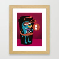 Magic In A Cup Framed Art Print