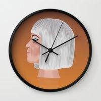 Katy P 2 Wall Clock