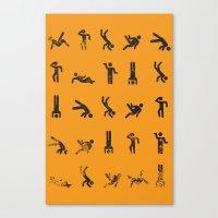 Breakit Canvas Print