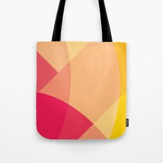 Pink Mountain Tote Bag