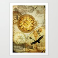 Time Keeps On Slipping..… Art Print