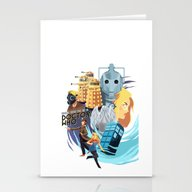 Doctor Who - Rose And Th… Stationery Cards