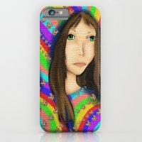 Anime Pop Rainbows iPhone 6 Slim Case