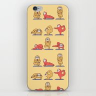 Sloth Yoga iPhone & iPod Skin