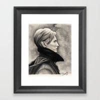 DAVID BOWIE - LOW Framed Art Print