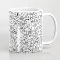 Infinity Robots Black & … Mug