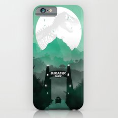Jurassic Park Inspired Minimalist Print  iPhone 6 Slim Case