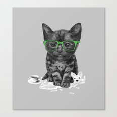 I Love Reading Canvas Print