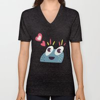 Kawaii Cute Candy Character Unisex V-Neck