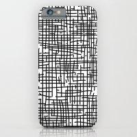 Crosshatch iPhone 6 Slim Case