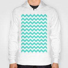 Chevron (Turquoise/White) Hoody