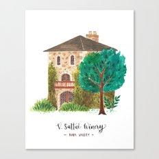V stattui winery Canvas Print