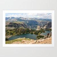 Beartooth Pass Lookout Art Print