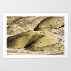 Hills of Gold Art Print