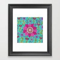 Floral Paradise Framed Art Print