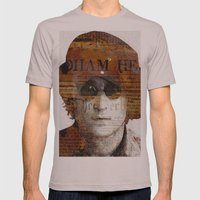 John L. Mens Fitted Tee Cinder SMALL