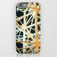 iPhone & iPod Case featuring Nighttime Cyclone by Yield Media