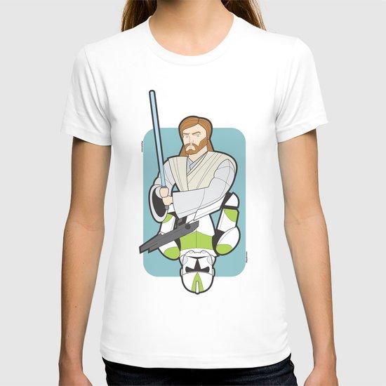 Obi-wan and Clone Trooper T-shirt
