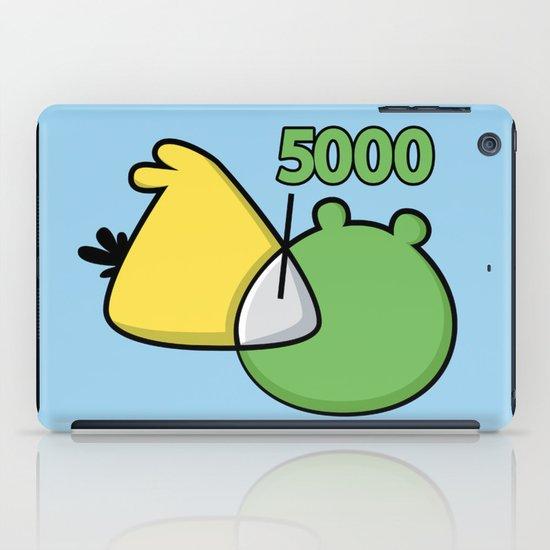 An Angry Venn Diagram (YELLOW) iPad Case