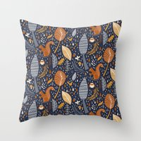 Vive L'automne !  Throw Pillow