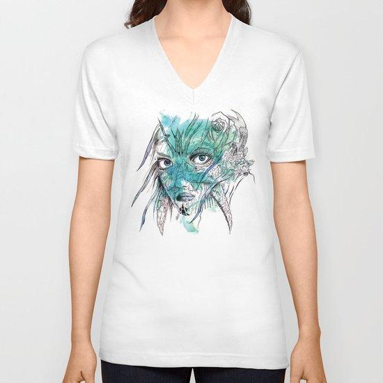 Beetle Born V-neck T-shirt