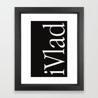 iVlad cover Framed Art Print