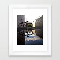 Urban Reflection Framed Art Print