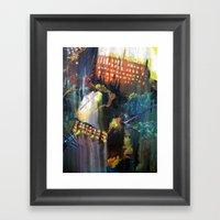 Void primary Framed Art Print