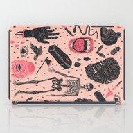 iPad Case featuring Whole Lotta Horror by Josh Ln