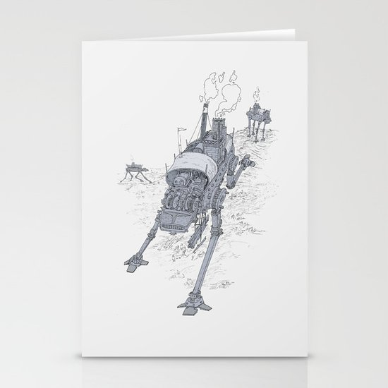 an even longer time ago Stationery Card