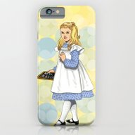 iPhone & iPod Case featuring Alice by Art Of Tom Tierney