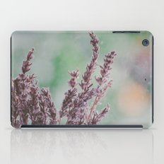 Lavender by the window iPad Case