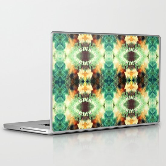 Kaleidoscopic Pattern Play Laptop & iPad Skin