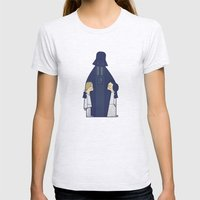 May the Love be with you Womens Fitted Tee Ash Grey SMALL