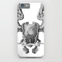 FF14 - Chocobo / materia coat of arms iPhone 6 Slim Case