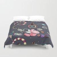 camtric fantasy pattern Duvet Cover