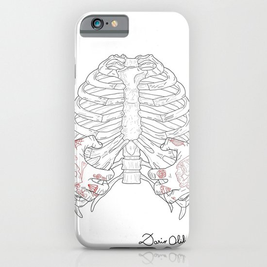 Human ribs cage iPhone & iPod Case