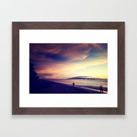 Beyond Horizons Framed Art Print
