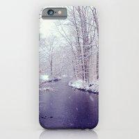 winter blues iPhone 6 Slim Case