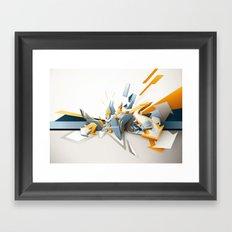 All directions Framed Art Print
