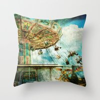 Dear Mom...I Joined The … Throw Pillow