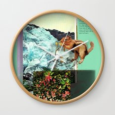 Alpine Tundra Wall Clock