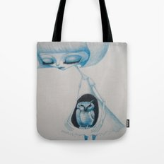 the owl's daughter Tote Bag