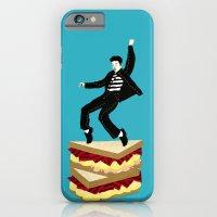 iPhone & iPod Case featuring Homage To Elvis by Liz Dorvee