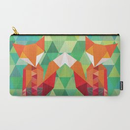 Carry-All Pouch - Fox in the woods - Mari Biro